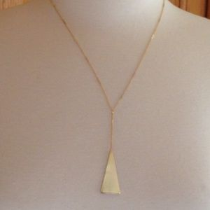 SEREFINA - Sultry Triangle Y-Necklace - NWT